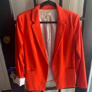 Red Women's Blazer